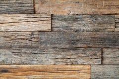 水平的古色古香的木头 库存照片