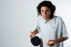 水平的砰球员pong 图库摄影