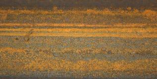 水平的铁锈纹理 免版税库存图片
