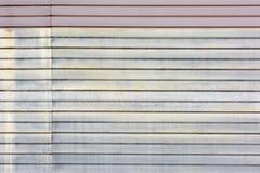 水平线背景  有异常的条纹,板条梯度的墙壁  库存图片