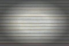 水平线背景  灰色墙壁由异常的条纹,板条做成 与小插图的照片 免版税库存图片