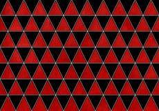 水彩三角样式 免版税图库摄影