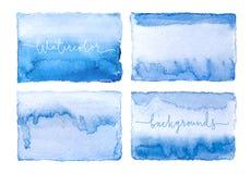 水彩五颜六色的背景 库存图片