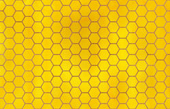 水彩几何梳子样式 免版税图库摄影