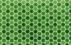 水彩几何梳子样式 库存图片