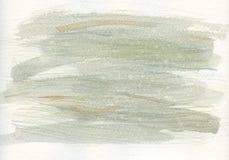 水彩抽象纹理绿色 皇族释放例证