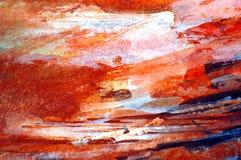 水彩抽象背景 库存照片