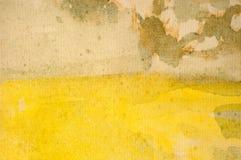 水彩抽象背景 免版税库存图片