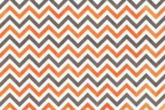 水彩橙色和灰色条纹背景,V形臂章 向量例证