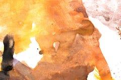 水彩油漆抽象背景  图库摄影
