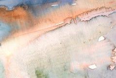 水彩洗涤背景 免版税库存照片