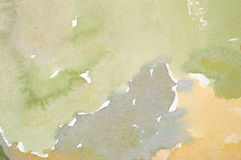 水彩洗涤背景 库存照片