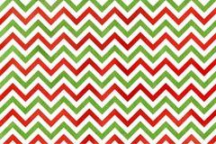 水彩红色和绿色条纹背景,V形臂章 向量例证