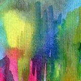 水彩艺术背景摘要五颜六色织地不很细 库存图片