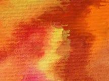 水彩艺术背景摘要五颜六色织地不很细 免版税库存图片