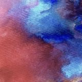水彩艺术背景摘要五颜六色织地不很细 图库摄影