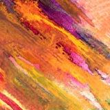 水彩艺术背景摘要秋天五颜六色的织地不很细温暖的冲程 库存照片