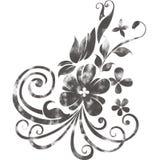 水彩花主题 向量例证