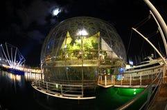 水族馆热那亚端口 库存图片