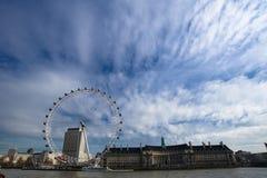 水族馆眼睛伦敦 免版税库存照片