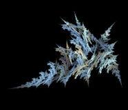 水晶分数维冰 库存例证