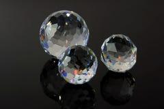 水晶剪切魔术 免版税库存图片