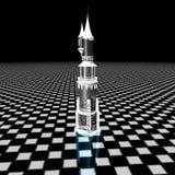 水晶塔 免版税库存照片