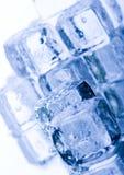水晶多维数据集冰 图库摄影
