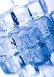 水晶多维数据集冰 库存照片