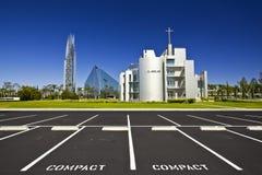 水晶大教堂 库存图片