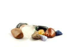 水晶岩石 库存图片