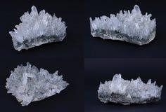 水晶岩石 免版税库存照片