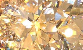 水晶折射背景 向量例证