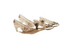 水晶拖鞋 免版税库存图片