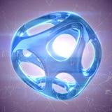水晶摘要 首饰概念 免版税库存图片