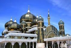 水晶清真寺或Masjid Kristal 库存照片