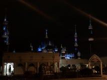 水晶清真寺,登嘉楼 库存照片