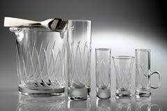 水晶玻璃 免版税图库摄影