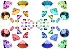 水晶玻璃 库存图片