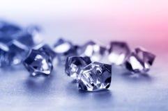 水晶石头 库存照片