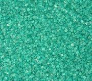 水晶绿松石 库存照片