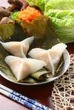 水晶饺子 图库摄影