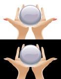 水晶魔术 免版税库存图片