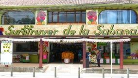 水果和蔬菜商店哥伦比亚Chia门面  影视素材