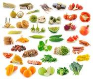 水果和蔬菜的收集 图库摄影