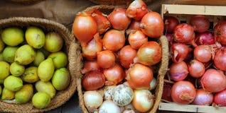 水果市场界面蔬菜 免版税库存照片