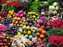 水果市场 免版税库存照片
