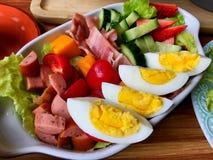水果沙拉蔬菜 免版税库存图片