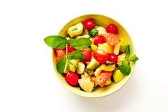 水果沙拉 免版税图库摄影