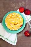 水果的乳酪蛋糕 库存图片